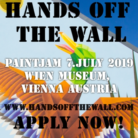 HANDS OFF THE WALL open call