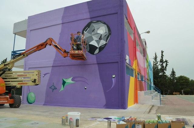UrbanAct School Mural Project 2019