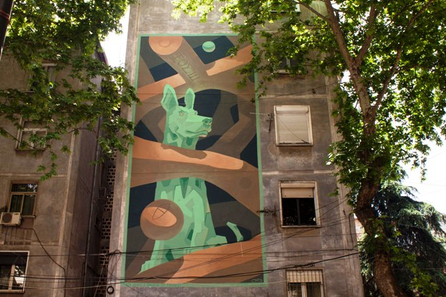 MOTS – New Mural Project – for Stray Dogs
