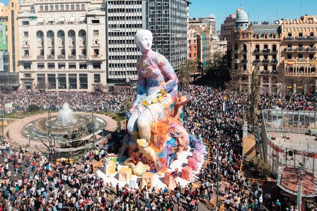 PichiAvo intervention at Esplugues de Llobregat (Barcelona)