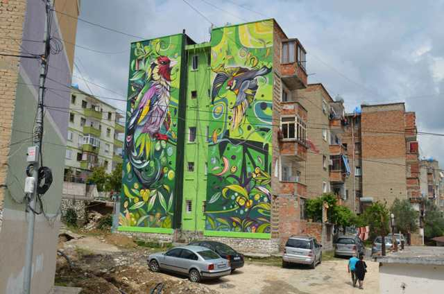 UrbanAct X Albania / MURAL PROJECT 2019