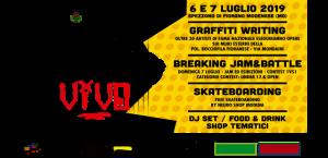 Cemento Vivo Street Jam National Graffiti 5th edition
