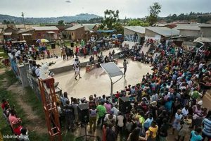 African street art festival