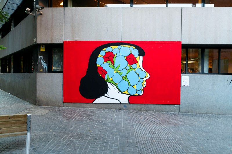 Cristina Daura mural reflects human introspection