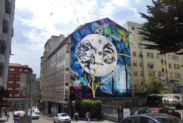 New Wall Fabio Petani in Santander