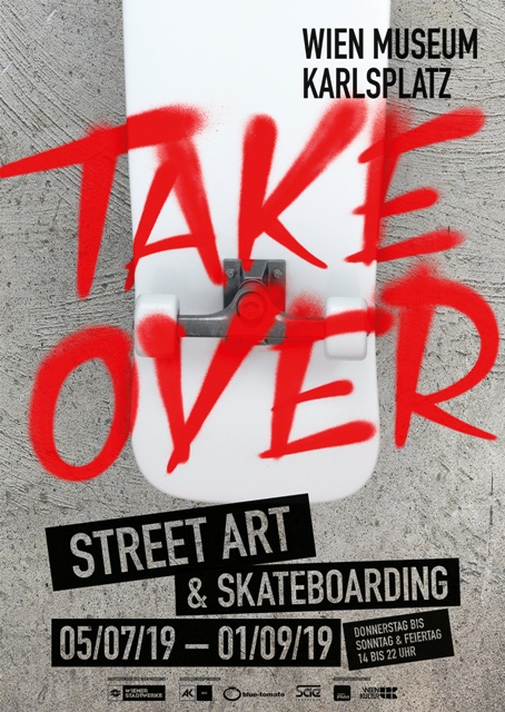 TAKEOVER Street Art & Skateboarding