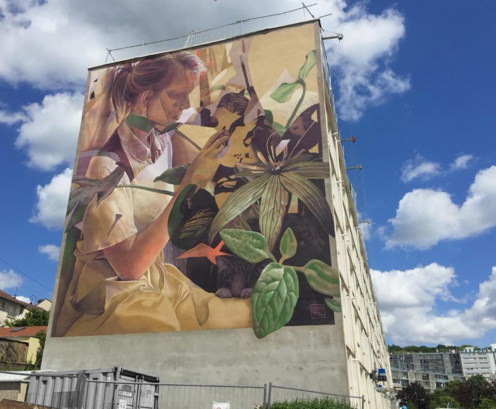Telmo & Miel new mural in France
