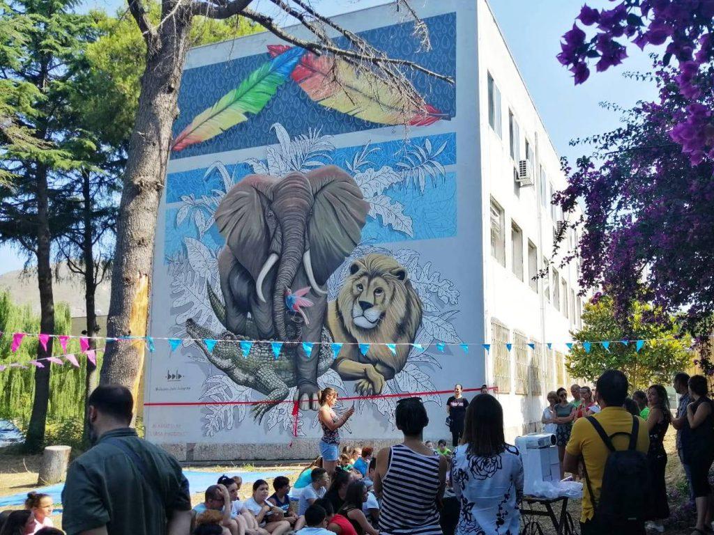 Bolo mural in Naples