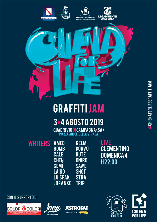 Chiena for Life Graffiti Jam