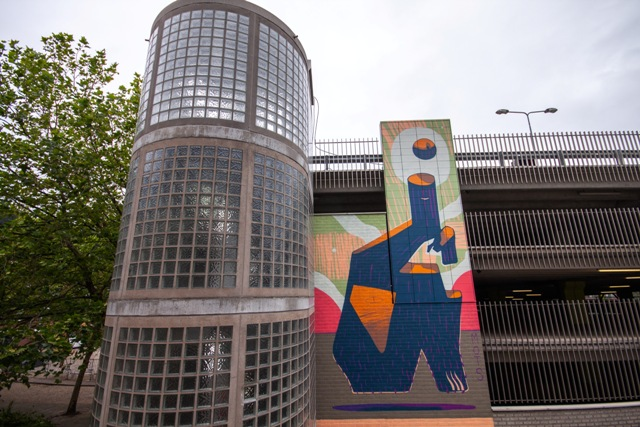 New murals by Mots in Leeuwarden and Styria