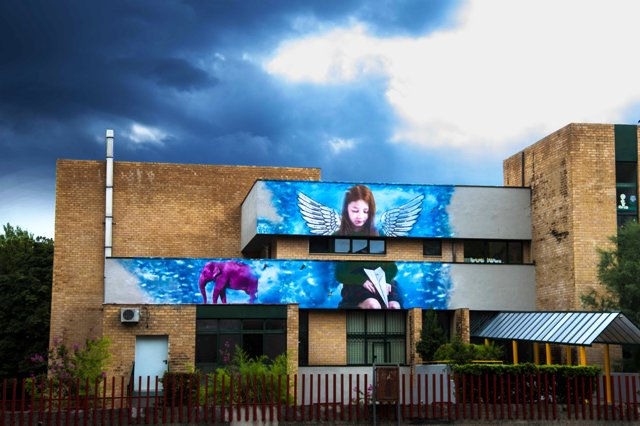 Bifido new mural in Caserta (Italy)