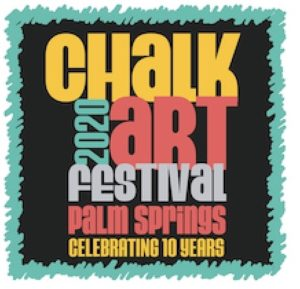 2020 Palm Springs Chalk Art Festival