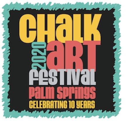 2020 Palm Springs Chalk Art Festival