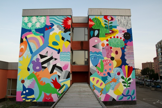 5 new murals by 3rd edition of Parees Festival in Oviedo