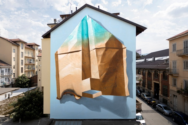 New NEVERCREW mural in Torino, Italy