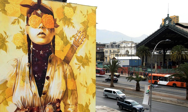 Mural by INTI in Chile