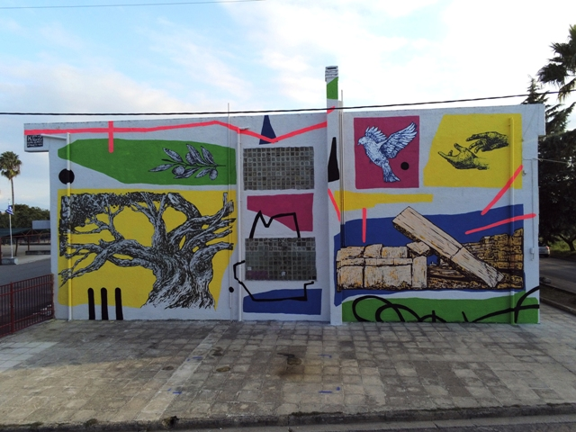 Kez mural for UrbanAct.gr