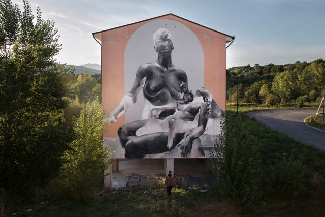 Bagout Fest mural by Bosoletti
