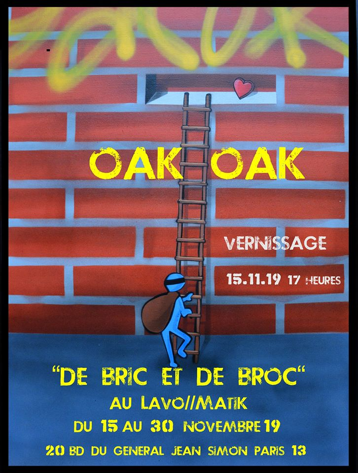Oak Oak Vernissage