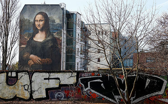 The Mona Lisa In Street Art