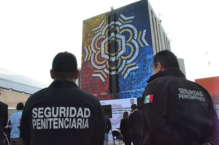 Colaboration on mural project for Maximum Security Penitentiary