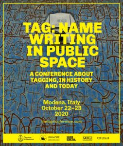 The Tag Conference, Modena 2020 – call for papers
