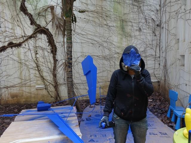 """Resistance"" kinetic sculpture by Elbi Elem"
