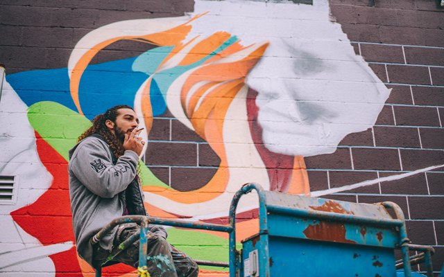 5 Amazing Pieces Of Cannabis Street Art I Support Street Arti Support Street Art