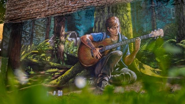 The Last Of Us Part II – Mural by Metod