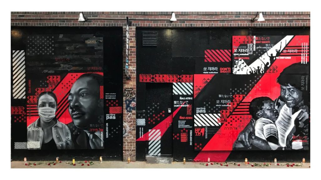 Mural for Black Lives by Murals for the Movement