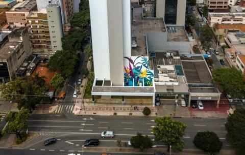 Thiago Mazza urban flora mural