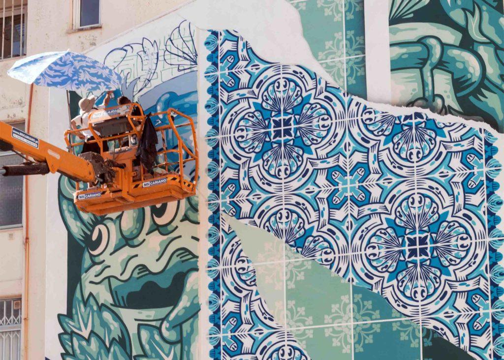 Add Fuel Mural in Caldas da Rainha Portugal