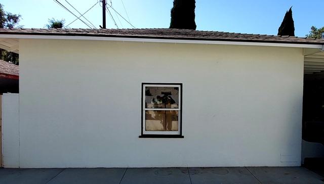 Garage mural in CA