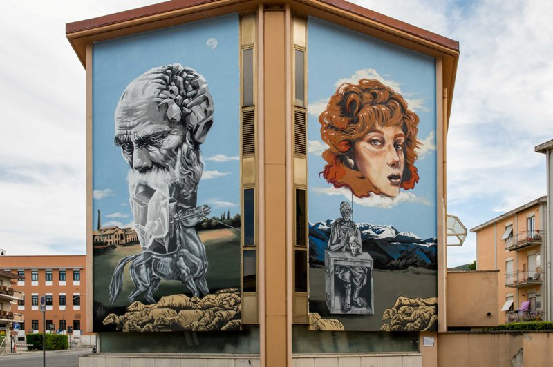 Urban Art Returns to the Limelight in Rieti