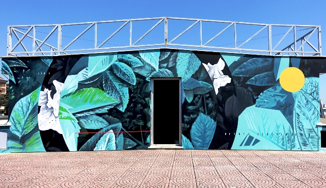 New Mural by Fabio Petani in Rome