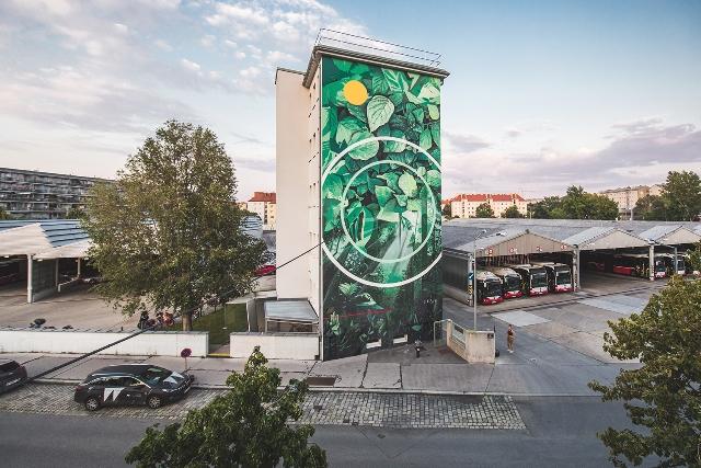 Fabio Petani Mural in Wien