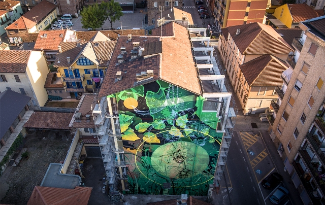 Fabio Petani new mural in Italy