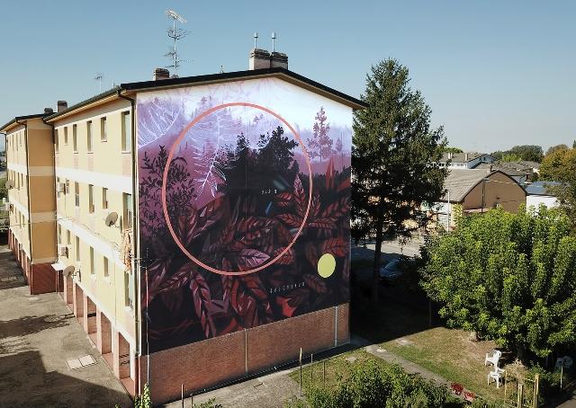 Fabio Petani mural for ARTU Festival