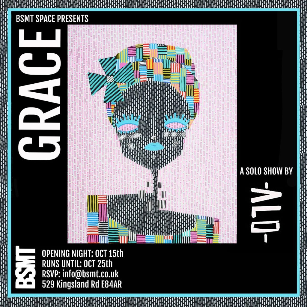 GRACE solo show by ALO