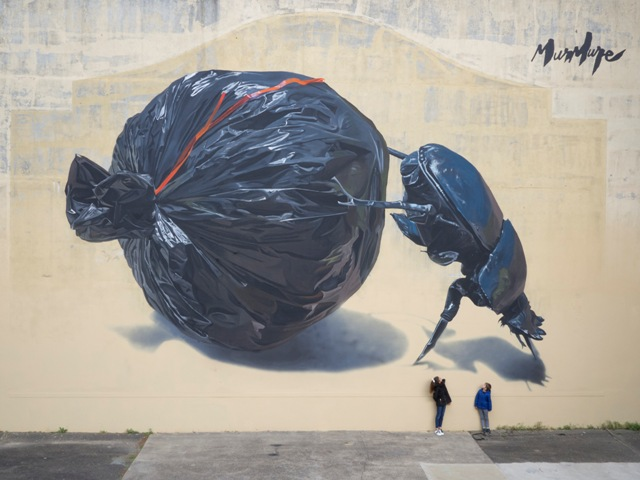 New Mural by Murmure street for Point de Vue Festival in France