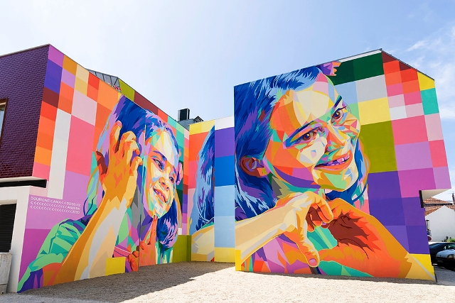 Latest DOURONE mural in Portugal