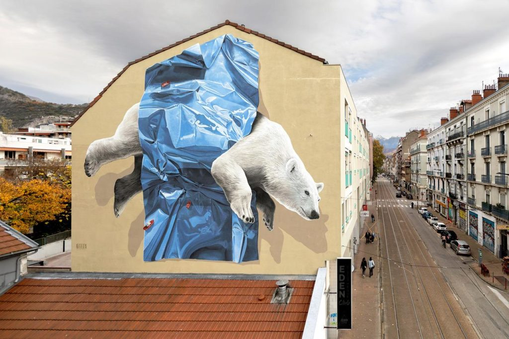 New NEVERCREW mural in Grenoble France
