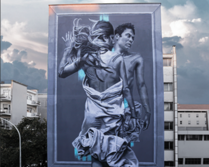 JDL mural for LGBT movement in Rome