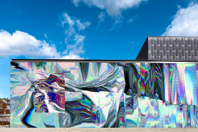 Anne Vieux's prismatic installation in Bentonville