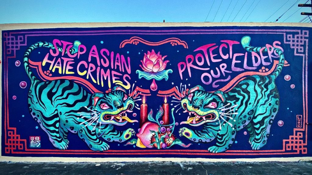 New Mural by Lauren YS & Fundraising Campaign