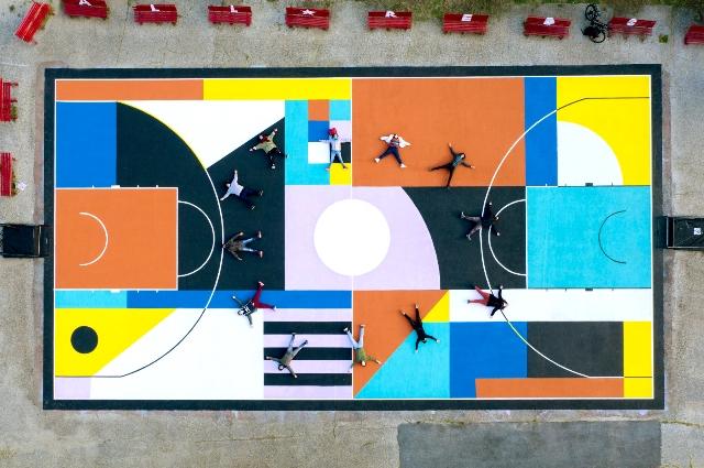 Tiber Courtyard by Greg Jager