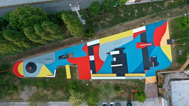 Skate Park Playground by Giulio Vesprini