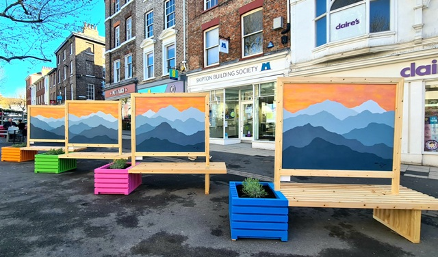 """Public Street Art in York: """"Tranquility through Mindfulness"""""""