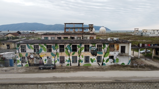 Public art for environmental preservation in Southern Albania