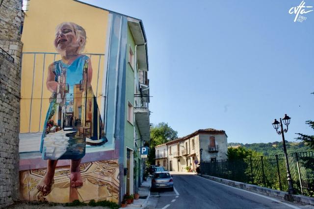 News murals in for Cvtà Street Fest 2021